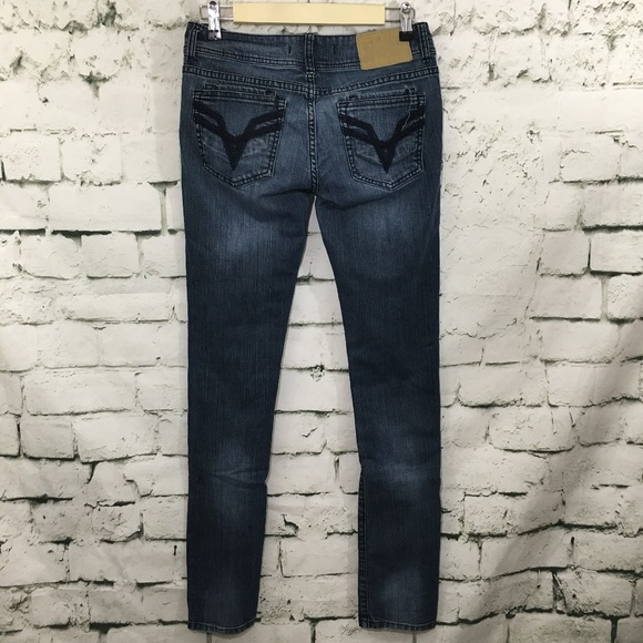 882ac8aaff2 Vigoss Jeans | Studio Skinny Pockets Distressed Denim Jean | Poshmark